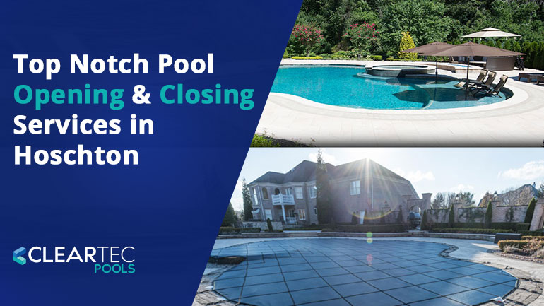 Pool Opening Services in Hoschton