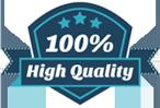 high quality service